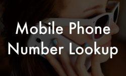 Best Premium Mobile Phone Number Lookup Provider