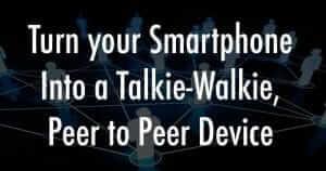 Peer to Peer Device
