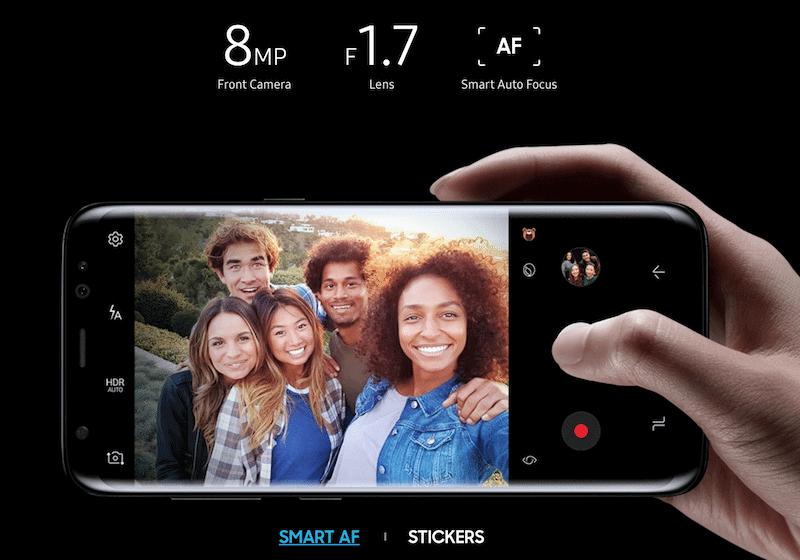 Samsung Galaxy S8/8+ Camera features